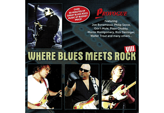 VARIOUS - Where Blues Meets Rock Vol.8 - (CD)