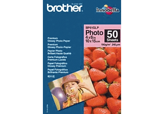 BROTHER BP61GLP50 Glossy Fotopapier 50 Vel