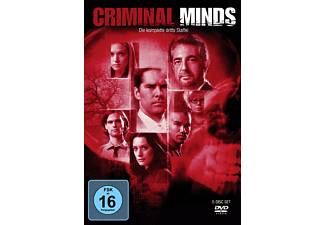 Criminal Minds - Staffel 3 Krimi DVD