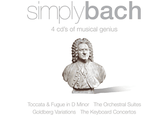 VARIOUS - Simply Bach - (CD)