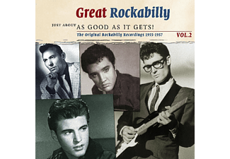 VARIOUS - Great Rockabilly 2: Just About As Good As It - (CD)