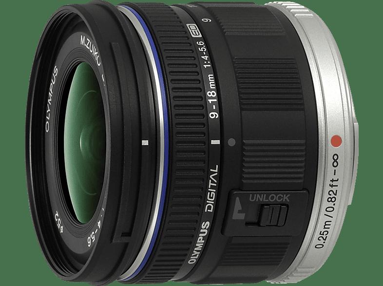 OLYMPUS M.Zuiko Digital ED 9-18mm 4.0-5.6 Black - (EZ-M918) hobby   φωτογραφία φωτογραφικές μηχανές φακοί mirrorless