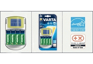 VARTA POWER LCD CHARGER INKL. 4XAA 2.700 + 12V + USB