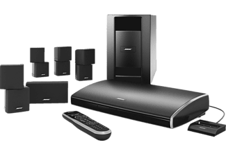 bose 5 1 heimkino system lifestyle v 25 schwarz mediamarkt. Black Bedroom Furniture Sets. Home Design Ideas