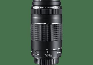 CANON EF 75-300mm f/4-5.6 III 75 mm-300 mm Objektiv f/4-5.6, System: EOS Kameras, Schwarz