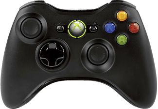 MICROSOFT Wireless Controller R black für Xbox 360