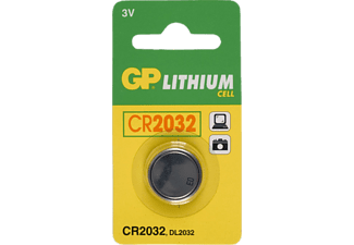 GP GP Batteries Lithium Batterie Knopfzelle CR2032 Knopfzelle, Silber