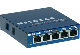 NETGEAR GS105GE 5-PORT GIGABIT SWITCH METALL