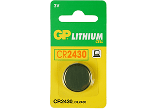 GP GP Batteries Lithium Batterie Knopfzelle CR2430 Knopfzelle, Silber