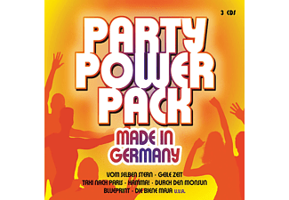 Various - Party Power Pack-Made In Germany [CD]