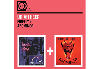 Uriah Heep - 2 For 1: Firefly/Abominog - (CD)
