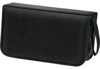 HAMA 33833 CD/DVD Nylon Wallet 120, Black
