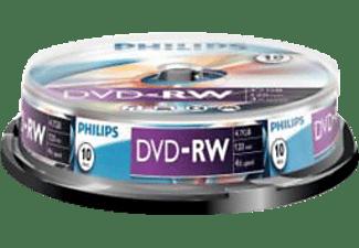DVD-RW Cakebox, 10 stuks