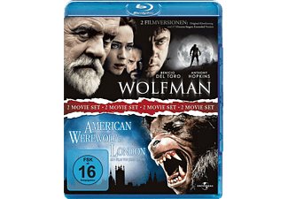 Wolfman - Extended Version / American Werewolf in London - (Blu-ray)
