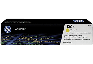 HP 126A Tonercartridge Geel