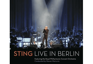 Sting + Royal Philharmonic Concert Orchestra, The LIVE IN BERLIN Pop CD + DVD Video