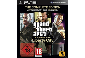 GTA 4 - Grand Theft Auto 4 - Complete Edition Action PlayStation 3