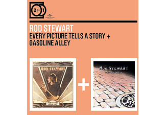Rod Stewart - 2 For 1:Every Picture Tells A Story/Gasoline Alley [CD]