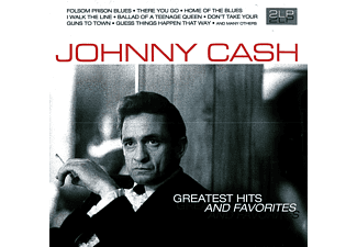 Johnny Cash - GREATEST HITS & FAVORITES [Vinyl]