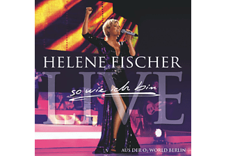 Helene Fischer BEST OF LIVE - SO WIE ICH BIN (ENHANCED) Schlager CD EXTRA/Enhanced