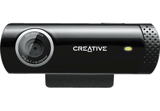 CREATIVE 73VF070000001 Live! Cam Chat HD, Webcam, Schwarz
