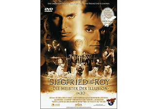 SIEGFRIED & ROY - MEISTER DER ILLUSION - IN 3D [DVD]