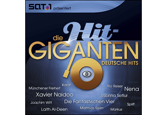 Various - Die Hit Giganten-Deutsche Hits [CD]