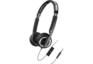 SENNHEISER PX 200-II i, On-ear Headset, Schwarz
