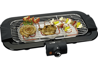 clatronic bq 2849 barbecue tischgrill 2000w thermostat mediamarkt. Black Bedroom Furniture Sets. Home Design Ideas