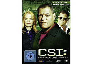 CSI: Crime Scene Investigation - Staffel 10.1 [DVD]