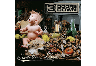 3 Doors Down - SEVENTEEN DAYS [CD]