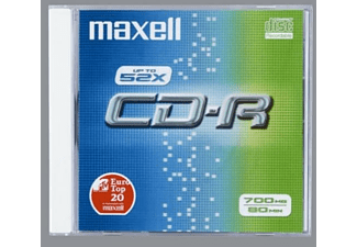 MAXELL CD-R 80, 700MB, 52x 10er Pack