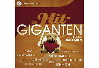 Various - Die Hit Giganten-Deutsche Balladen [CD]