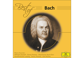 VARIOUS - Best Of Bach - (CD)