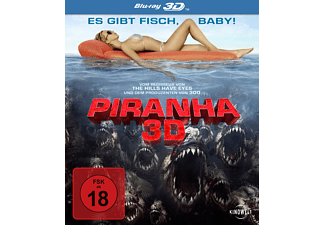 Piranha 3D Horror Blu-ray 3D
