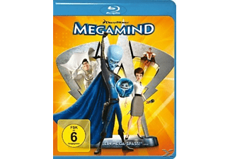 Megamind Animation/Zeichentrick Blu-ray