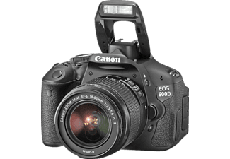 CANON EOS 600D 18-55mm IS II, , CMOS Sensor, 7.7 cm (3 Zoll)