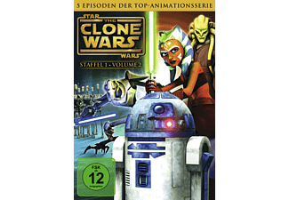 Star Wars: The Clone Wars - Staffel 1.2 [DVD]