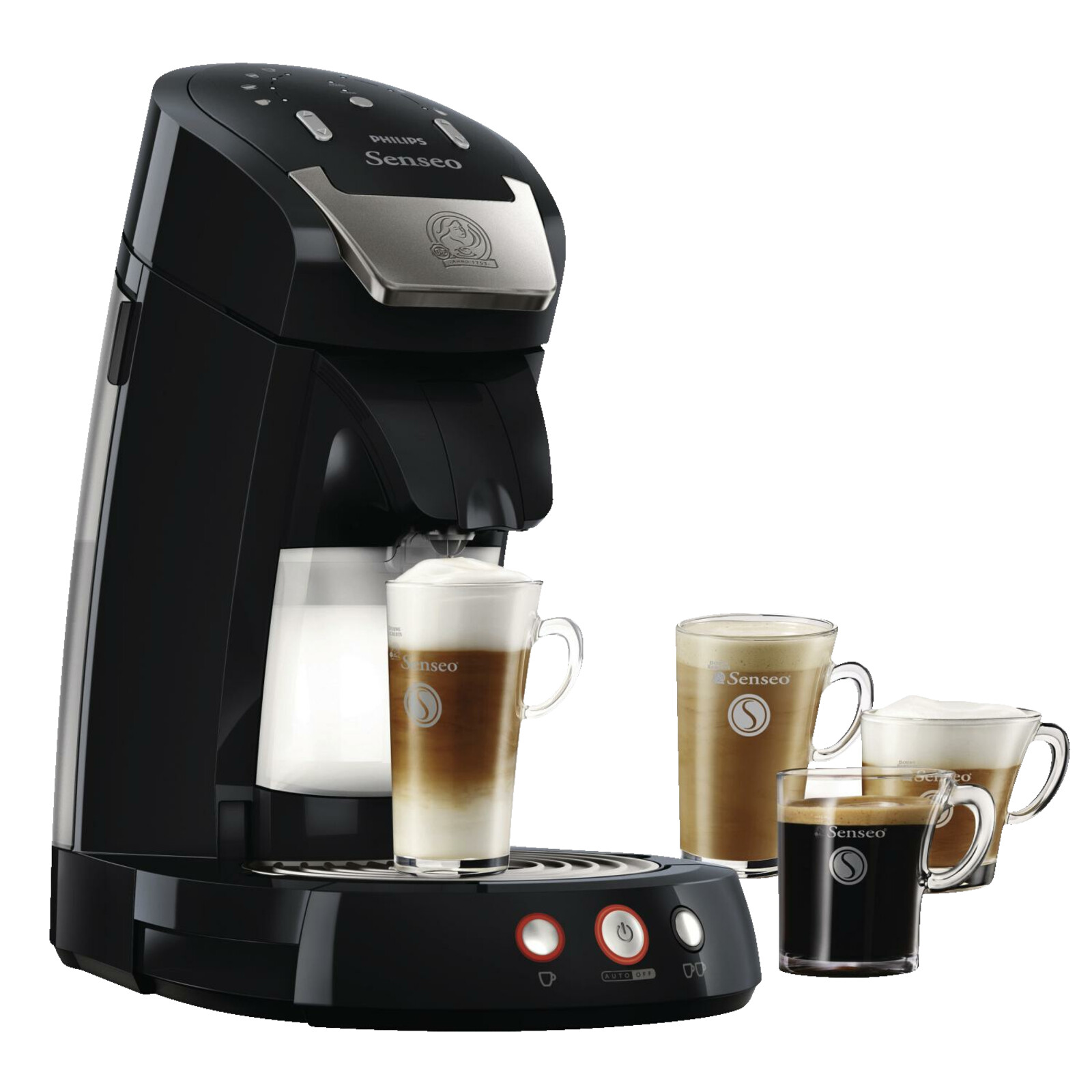 philips senseo latte select hd7854 60 kaffeemaschine schwarz ebay. Black Bedroom Furniture Sets. Home Design Ideas