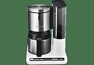 bosch kaffeemaschine tka 8651 wei filterkaffeemaschine online kaufen bei mediamarkt. Black Bedroom Furniture Sets. Home Design Ideas