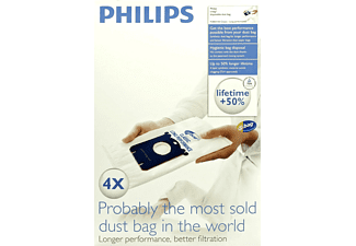 PHILIPS FC 8021/03 S-Bag Classic Long Performance Staubsaugerbeutel