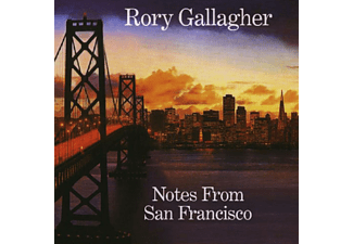 Rory Gallagher - NOTES FROM SAN FRANCISCO [CD]
