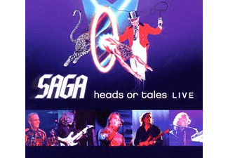 Saga - Heads Or Tales:Live [CD]