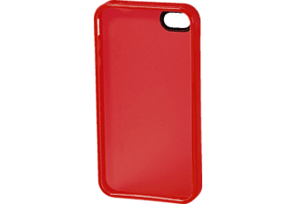 HAMA Handy-Cover TPU, Backcover, iPhone 4, iPhone 4s, Rot