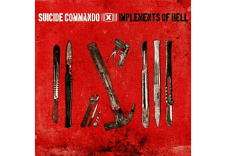 Suicide Commo, Suicide Commando - Implements Of Hell - (CD)