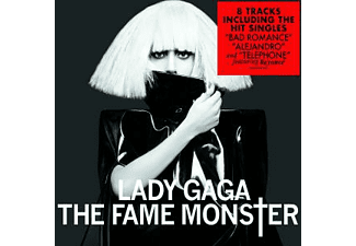 Lady Gaga - The Fame Monster (8-Track) - (CD)