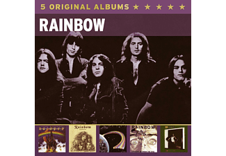 Rainbow & Ritchie Blackmore's Rainbow - 5 Original Albums [CD]