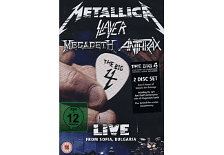 Metallica, Slayer, Anthrax, Megadeth - The Big Four - Live From Sofia, Bulgaria (DVD)