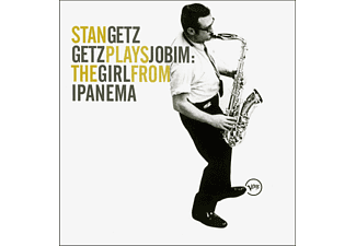Stan Quartet Getz, Stan Getz - Getz Plays Jobim: The Girls From Ipanema [CD]
