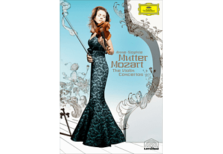 Anne-Sophie Mutter / Camerata Salzburg - Die Violinkonzerte [DVD + Video Album]